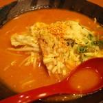 國丸 - 北海道百年味噌ラーメン炙りチーズ