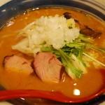 國丸 - 土佐カツオ味噌ラーメン