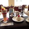 カクテルラウンジシャトレーヌ - 料理写真:BLiZZARD ユーミンパフェ、ケーキセット