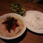 cafe Santa Fe - 裏メニュー:グリーンカレー