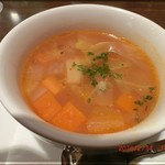 セゾニエ - セット スープ ミネストローネ