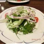 セゾニエ - セットメニュー シーザーサラダ