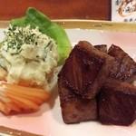 喜泉 - 牛肉……焼き……??おまかせで……メッチャ上手い(*_*)