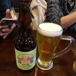 SNOOPY茶屋 由布院 - 湯布院ビール600円(税別)