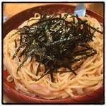 ハシヤ スパゲティ - タラコ・イカ、バター。 安定した美味さだけど、高すぎぃ!