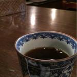 鶴喜 - サービスの珈琲
