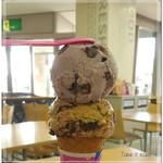 サーティワンアイスクリーム - 料理写真:大納言あずき&ジャモカアーモンドファッジ