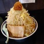 ra-mentsukemengarou - 雅狼麺特盛400gアブラ、にんにくまし