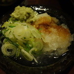 笏谷そば - 薬味