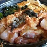 大浜丸 魚力 - 料理写真:どぶ汁風あんこう鍋