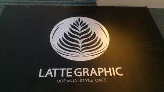 ラテグラフィック 町田店 - 看板