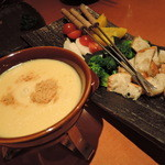 nakameguro 燻製 apartment - 燻製チーズフォンデュ