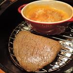 nakameguro 燻製 apartment - ダッチオーブンで作る黒毛和牛モモ肉の瞬間燻製