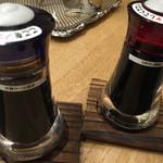 炉端居酒屋 ぱぱらぎ - 沖縄かつお醤油・九州甘口醤油
