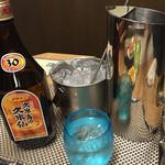 炉端居酒屋 ぱぱらぎ - 泡盛(久米仙ブラウン)