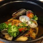 Le Vert Frais - 鮮魚のポワレ 春キャベツラタトゥイユ