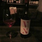 黄昏 - この中から3人だったんで赤ワインを選んで貰って皆で乾杯。