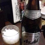 47500746 - 瓶ビール(飲み放題の1つ)