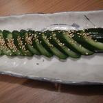 食彩わいわい村 - 胡瓜の朝漬け