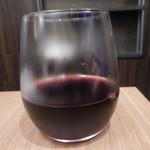 食彩わいわい村 - グラス赤ワイン