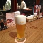 47501938 - 焼き場前でビール