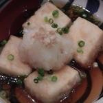 松好 - 揚げ出し豆腐