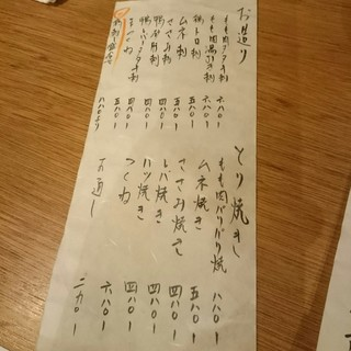 るこっく - MENU(2016.02)