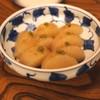 Sanchokuya Taka - 料理写真:魚の出汁で炊いた大根 柚子胡椒風味と鰹節風味