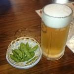 にっぽんの洋食 江戸一 - 2015/07/10 11:40訪問 生ビール♪