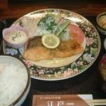 にっぽんの洋食 江戸一 - 2015/10/07 12:20訪問 サーモンムニエルバター醤油¥900
