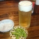 にっぽんの洋食 江戸一 - 2015/10/07 12:20訪問 生ビール♪