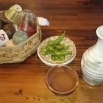 にっぽんの洋食 江戸一 - 2016/02/05 11:40訪問 熱燗(二合)