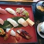 廻転寿司 CHOJIRO - にぎり盛り「大原」