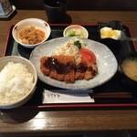 柚 - トンカツ定食