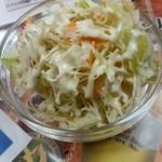 インド・ネパール料理 シャマーマハル - コースのサラダ