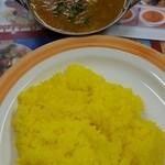 インド・ネパール料理 シャマーマハル - Dコース(ダル、ライス)