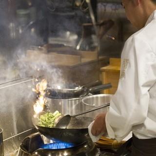 本格中国料理を手掛けて22年のシェフ