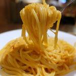 イタリアントマトカフェジュニア - ドイツステッペンチーズのトマトクリーム 650円 + 大盛 110円