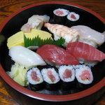 福寿し - 料理写真:上寿司1,500円