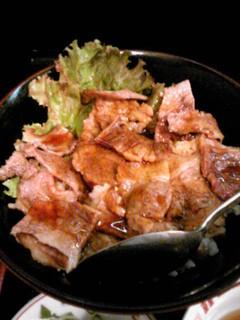つちのこ - 網焼カルビ丼