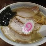 麺や田中 - 塩ラーメン+チャーシュー