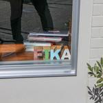 fika. - 2016年2月再訪:FIKAのロゴ☆