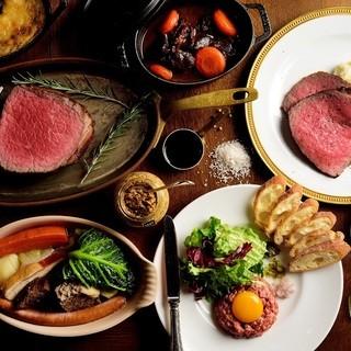 松阪牛一頭買い竹屋牛肉店直営の松阪肉ビストロ