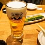 天神たんか - 生ビール