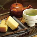 菓匠 星野 - 料理写真:かすてぃらと牧之原茶セット