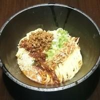 おどるタンタン麺 - 汁無し担々麺(白:中国四川風)