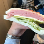 Drip-X-Cafe - ハムぎっしり