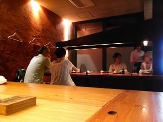松玄 恵比寿店 - 店内(2012.08撮影)