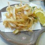 一作鮨 - 白海老の天ぷら