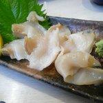 一作鮨 - ツブ貝のお造り